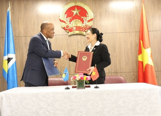 Vietnam, Saint Lucia set up diplomatic ties - ảnh 1