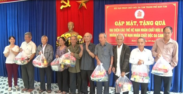 Agent Orange/Dioxin victims receive community suport - ảnh 1