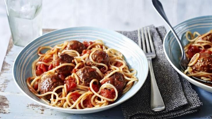 Spaghetti and meatballs - ảnh 2