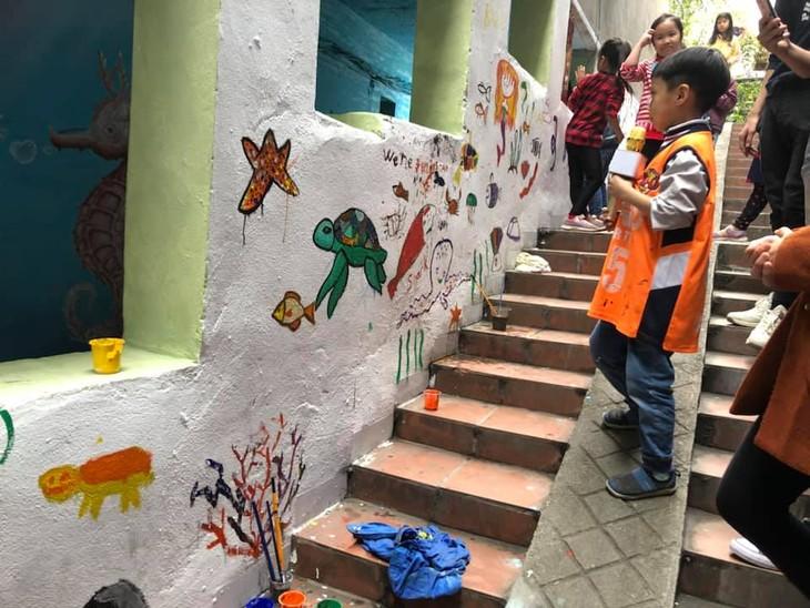 Fun mural art project for kids - ảnh 1