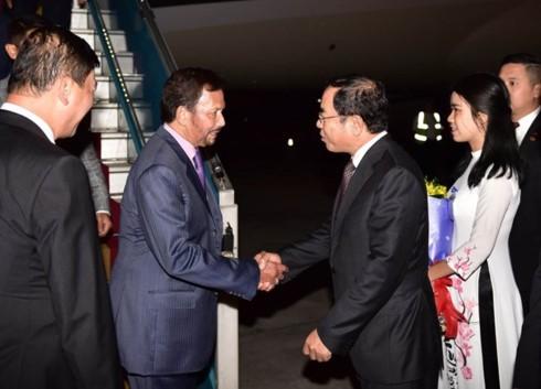 Sultan of Brunei begins State visit to Vietnam - ảnh 1