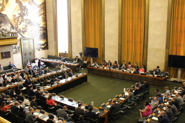 Vietnam chairs plenary of Conference on Disarmament - ảnh 1