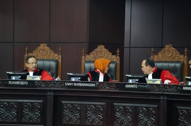 Indonesia court rejects appeal of presidential election result - ảnh 1
