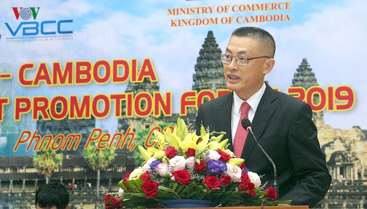 Vietnam, Cambodia strengthen trade, investment cooperation  - ảnh 1