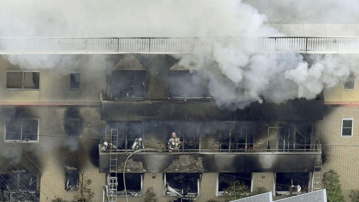 Kyoto Animation fire: Number of victims is increasing - ảnh 1