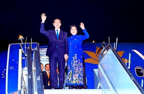 Presiden Vietnam, Tran Dai Quang mengakhiri dengan baik kunjungan kenegaraannya di India dan Bangladesh - ảnh 1