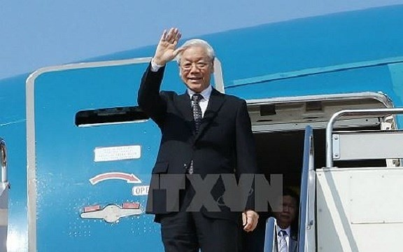 Sekjen Nguyen Phu Trong akan melakukan kunjungan resmi Republik Perancis dan melakukan kunjungan Kenegaraan ke Republik Kuba - ảnh 1