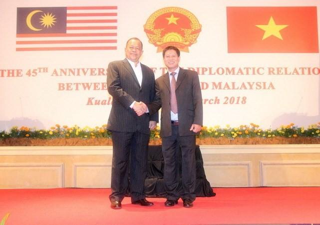 Peringatan ultah ke - 45 hubungan diplomatik Vietnam – Malaysia - ảnh 1