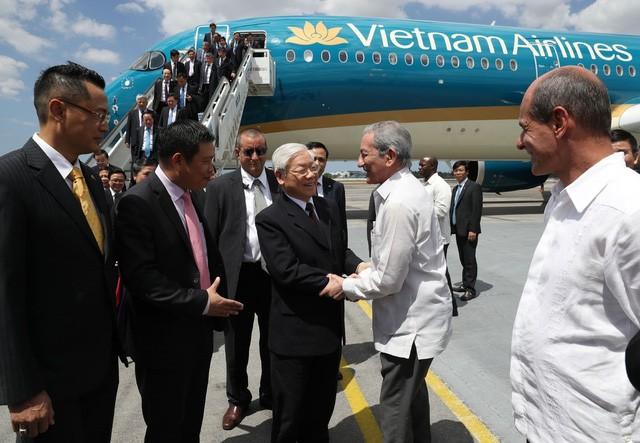 Aktivitas Sekjen Nguyen Phu Trong dalam kunjungan kenegaraan di Republik Kuba - ảnh 1