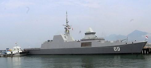 싱가포르 해군선, 다낭 시 방문 - ảnh 1