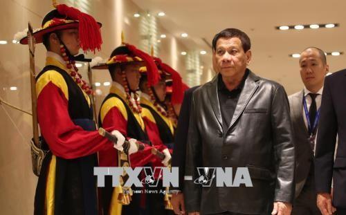 Presiden Filipina mengunjungi Republik Korea untuk mendorong hubungan pertahanan dan keamanan - ảnh 1