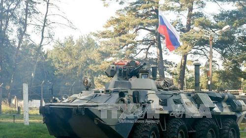Rusia menarik diri dari perbatasan Suriah – Libanon - ảnh 1