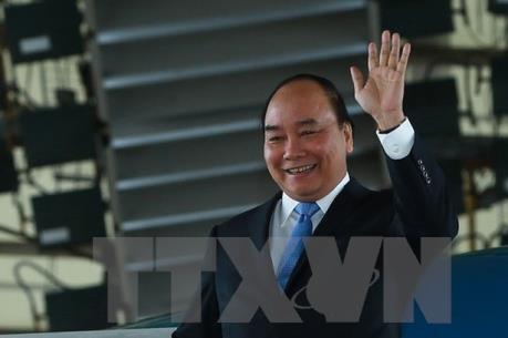 PM Vietnam, Nguyen Xuan Phuc berangkat menghadiri KTT G7 yang diperluas - ảnh 1