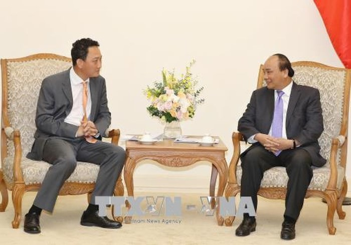 PM Nguyen Xuan Phuc menerima Dubes baru Republik Korea di Vietnam, Kim Do Hyun - ảnh 1