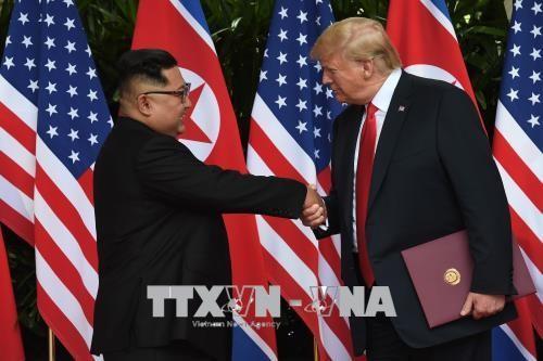 Pertemuan puncak AS-RDRK: Negara-negara merasa optimis tentang proses denuklirisasi di Semenanjung Korea - ảnh 1