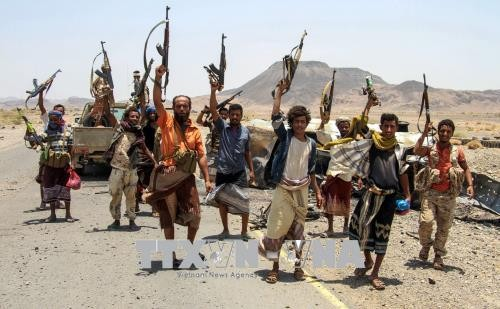 Pasukan Koalisi Arab melakukan serangan yang paling besar di Yaman - ảnh 1