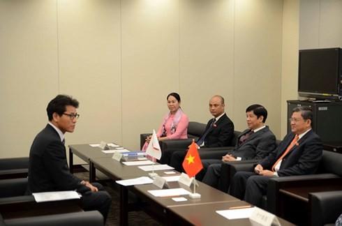 Memperkuat hubungan antara MN Vietnam dan Parlemen Jepang - ảnh 1