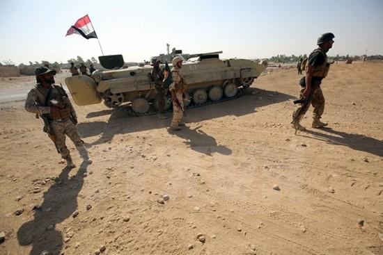 Irak membasmi seorang benggolan IS - ảnh 1