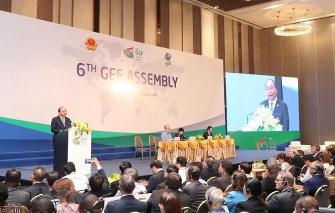 Vietnam memberikan sumbangan penting pada sukses umum Persidangan ke-6 Majelis Umum Dana Lingkungan Global (GEF6) - ảnh 1
