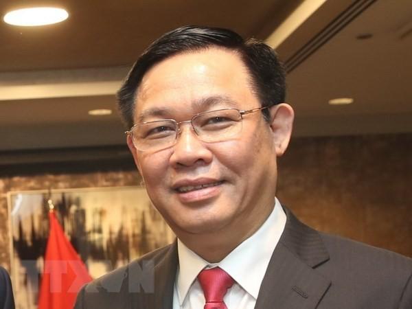 Deputi PM Vietnam, Vuong Dinh Hue mengakhiri dengan baik kunjungan resmi di AS - ảnh 1