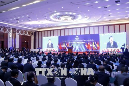 Pembukaan Konferensi Komunikasi  Kerjasama Mekong-Lancang 2018 - ảnh 1