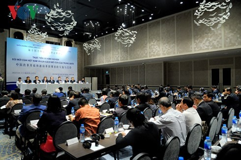 Lokakarya Teori ke-14 antara Partai Komunis Vietnam dan Partai Komunis Tiongkok - ảnh 1