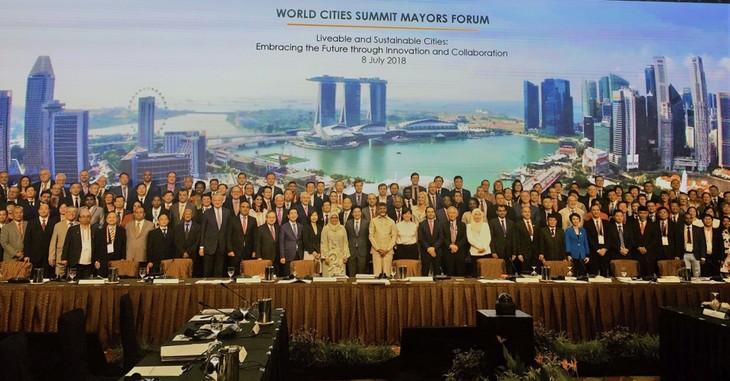 Konferensi Tingkat Tinggi ke-6 Kota-Kota di Dunia - ảnh 1