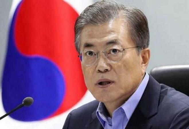Presiden Republik Korea mengunjungi Singapura - ảnh 1