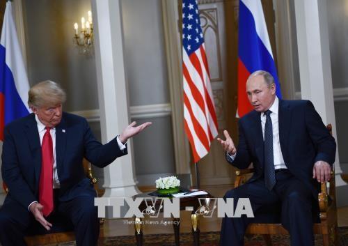 Presiden AS berbicara setelah pertemuan puncak dengan Rusia - ảnh 1
