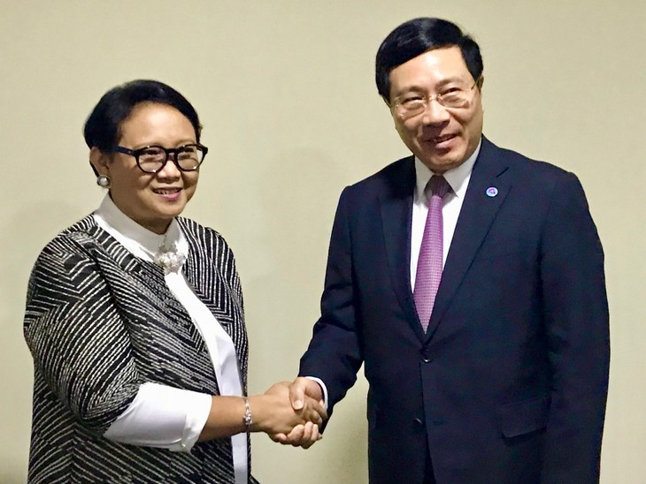 Vietnam-Indonesia: Berupaya mencapai nilai perdagangan ke 10 miliar USD pada tahun 2020 - ảnh 1