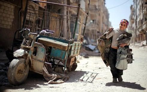 Rusia merekomendasikan supaya bekerjasama dengan AS untuk membantu kaum  pengungsi Suriah - ảnh 1