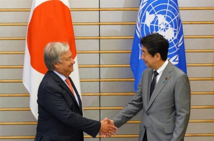 Jepang dan PBB sepakat mempertahankan sanksi terhadap RDRK - ảnh 1