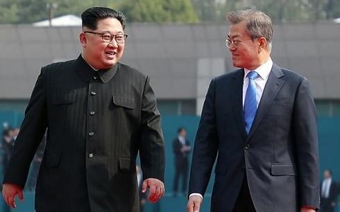 Dua bagian negeri Korea menetapkan waktu dan tempat mengadakan pertemuan puncak lanjutan - ảnh 1