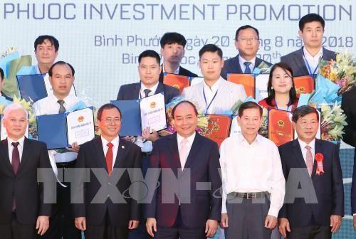 Pembukaan Konferensi Promosi Investasi Provinsi Binh Phuoc - ảnh 1