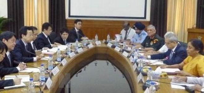 Pertemuan tingkat menteri pertahanan tahunan antara India dan Jepang - ảnh 1