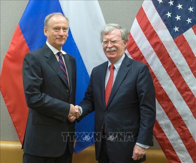 Pejabat keamanan senior Rusia dan AS membahas banyak masalah internasional yang besar - ảnh 1