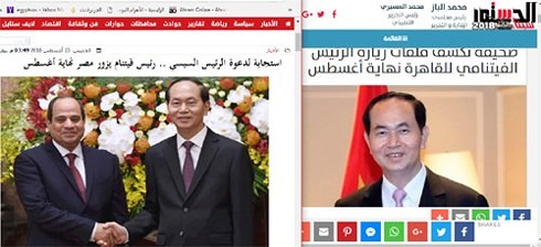 """Kunjungan Presiden Vietnam punya """"Arti penting terhadap Mesir dan Afrika di gelangan internasional"""" - ảnh 1"""