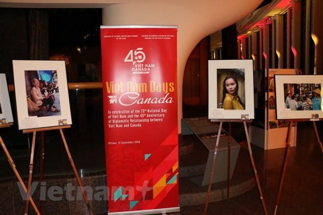 Acara Pembukaan Pekan Budayaan Vietnam di Kanada - ảnh 1