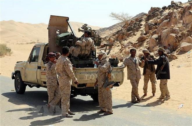 Pasukan Koalisi Akrab membuka sabuk kemanusiaan di Yamen - ảnh 1