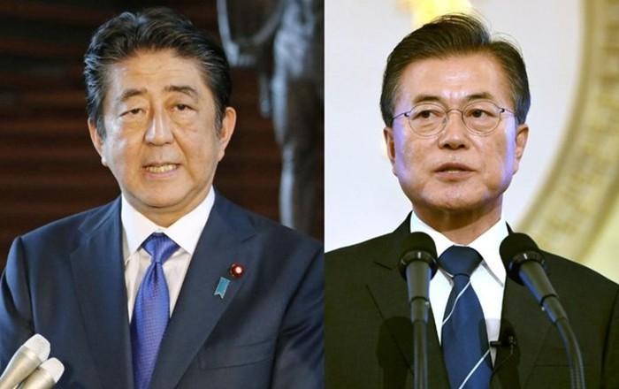 Pemimpin Jepang dan Republik Korea melakukan pertemuan tentang perkembangan di Semenanjung Korea - ảnh 1