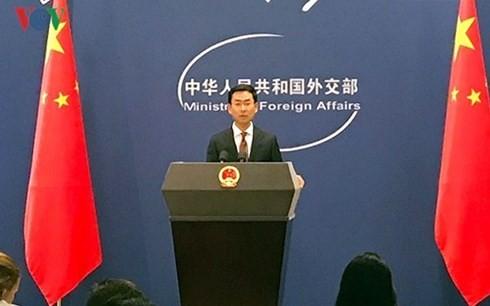 Tiongkok mendukung perundingan Republik Korea – RDRK tentang Pernyataan Penghentian Perang - ảnh 1