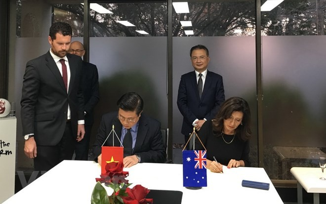 Mendorong kerjasama dan pendidikan pengacara antara Vietnam dan Australia - ảnh 1