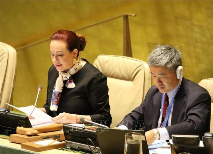 Majelis Umum PBB angkatan ke-73: Hasil-hasil yang menonjol dari sesi perdebatan umum tingkat tinggi - ảnh 1
