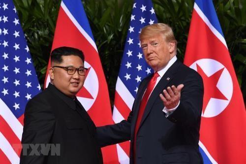 Pemimpin RDRK dan Presiden Republik Korea merasa optimis tentang pertemuan puncak AS-RDRK ke-2 - ảnh 1