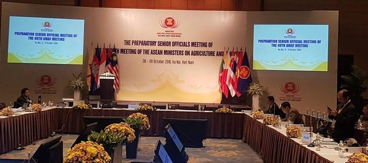 Konferensi Pejabat Senior Pertanian dan Kehutaan ASEAN - ảnh 1
