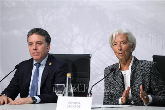 G20 menekankan ketegangan dagang perlu dipecahkan oleh negara-negara yang bersangkutan - ảnh 1