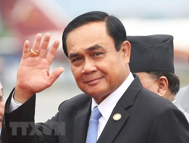 PM Thailand melakukan kunjungan resmi di Jerman, mendorong hubungan bilateral - ảnh 1