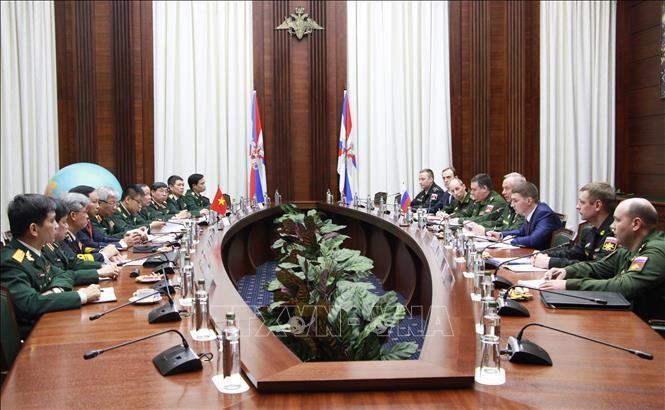 Dialog ke-4 Strategi Pertahanan Vietnam-Federasi Rusia  - ảnh 1