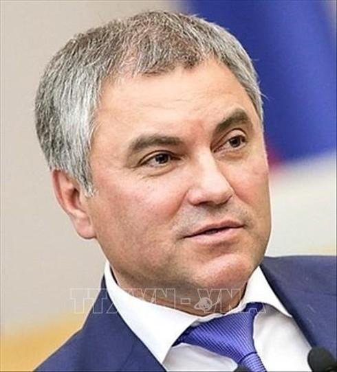 Ketua Duma Negara Federasi Rusia mulai melakukan kunjungan resmi di Vietnam - ảnh 1