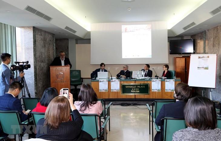 Perjanjian EVFTA membantu pendorongan hubungan perdagangan bilateral Vietnam-Italia - ảnh 1